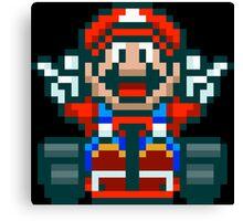 Super Mario Kart Victory Canvas Print