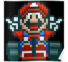 Super Mario Kart Victory Poster