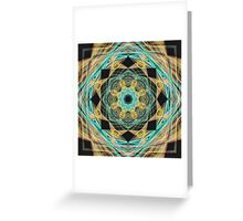 M01 Healing Mandala Greeting Card