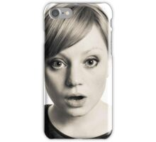 high key girl iPhone Case/Skin