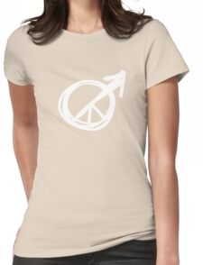 peace for men Womens Fitted T-Shirt