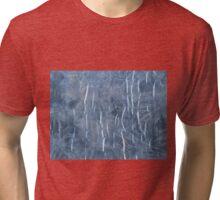 Laminated tie dye Tri-blend T-Shirt