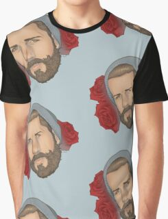 Men on Roses 3 - Eli Graphic T-Shirt