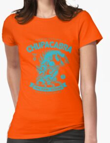 Chupacabra - Cryptids Case file #345 Womens Fitted T-Shirt