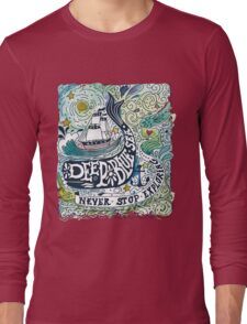 Deep blue sea.. Long Sleeve T-Shirt