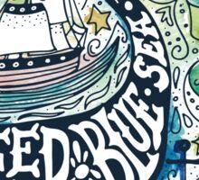 Deep blue sea.. Sticker