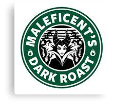 Maleficent - Starbucks Canvas Print