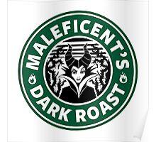 Maleficent - Starbucks Poster