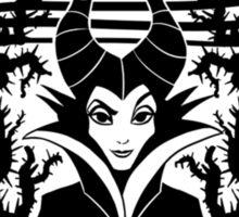 Maleficent - Starbucks Sticker
