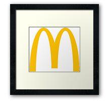 Mcdonalds Logo Framed Print