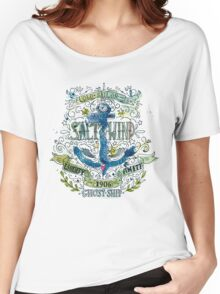 Salt and wind.. Women's Relaxed Fit T-Shirt