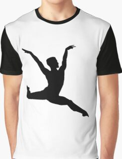 Ballet man Graphic T-Shirt