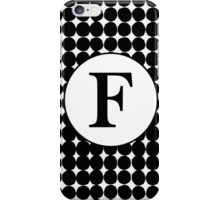 F Bubble iPhone Case/Skin