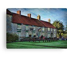 The Royal Oak Inn, Gillamoor Canvas Print