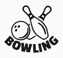 Bowling One Piece - Short Sleeve