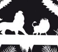 Lion King - Starbucks Sticker