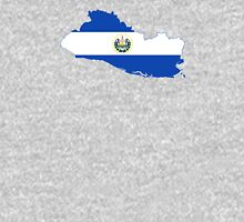 Flag Map of El Salvador  Unisex T-Shirt