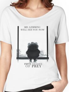 Zootopia fifty shades of pray parody Women's Relaxed Fit T-Shirt