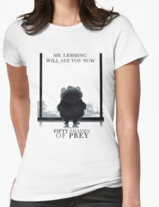 Zootopia fifty shades of pray parody Womens Fitted T-Shirt