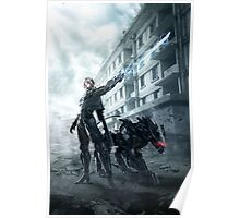 Metal Gear Rising Poster