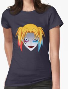 Comic Blonde Girl ORIGINAL Design (Movie Version) Womens Fitted T-Shirt