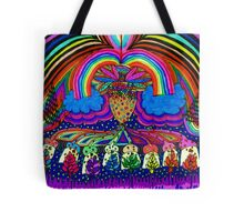 Psychedelic Abduction  Tote Bag