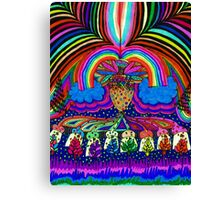 Psychedelic Abduction  Canvas Print