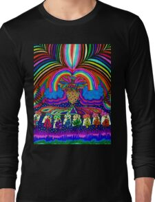 Psychedelic Abduction  Long Sleeve T-Shirt