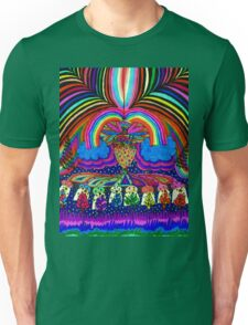 Psychedelic Abduction  Unisex T-Shirt