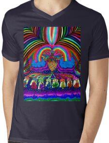 Psychedelic Abduction  Mens V-Neck T-Shirt