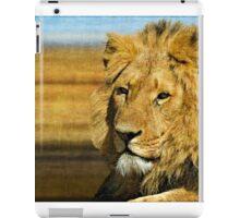 Big five: Lion iPad Case/Skin