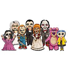 Horror Toys  Photographic Print