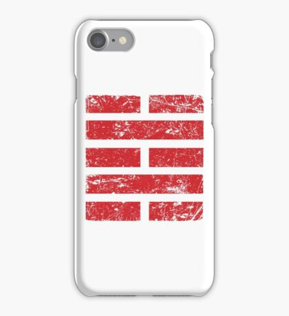 Storm Ninja Clan Grunged iPhone Case/Skin