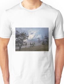 On the beach. Unisex T-Shirt