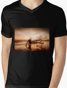 Hurricane victim  Mens V-Neck T-Shirt