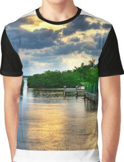 Golden glow Graphic T-Shirt