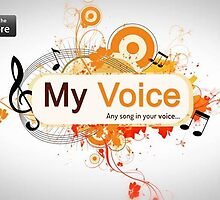 MyVoice Karaoke App for iPhone and iPad voice removal app by creative technosoft systems