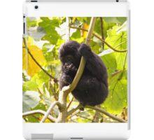 Gorilla Baby, Uganda Africa iPad Case/Skin