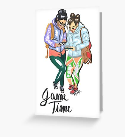 Game Time Greeting Card