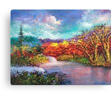 Autumn In The Garden Of Eden Canvas Print