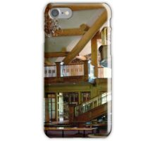 Lodge At Gondola Ride...Ketchum, Idaho iPhone Case/Skin