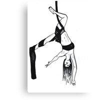 Arial Silks Dancer Canvas Print