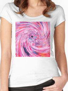 Astronaut (Abstract 37) Women's Fitted Scoop T-Shirt