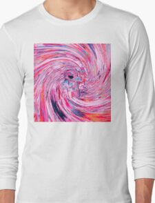 Astronaut (Abstract 37) Long Sleeve T-Shirt