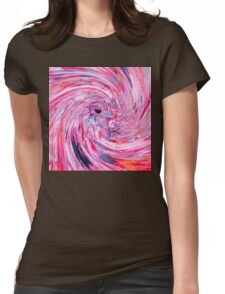 Astronaut (Abstract 37) Womens Fitted T-Shirt