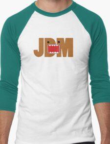 Domo Monster in JDM letters Men's Baseball ¾ T-Shirt