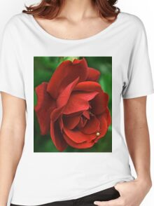 Scarlet rose Women's Relaxed Fit T-Shirt