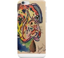 Biscuit the boxer iPhone Case/Skin