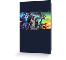 DC Legends of Tomorrow Paint Splash Greeting Card
