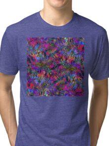 Fractal Insanity Tri-blend T-Shirt